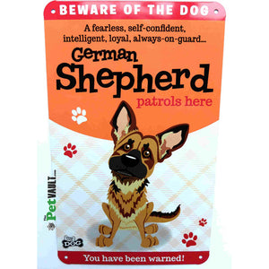 German Shepherd Gift Sign - The Pet Vault