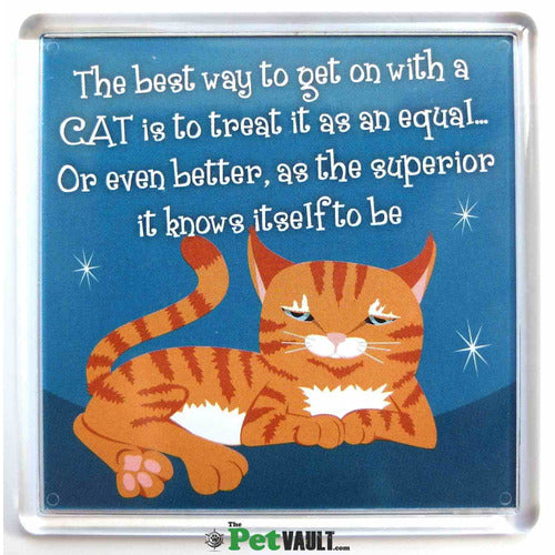 Ginger Cat (Laying Down) Gift Magnet - The Pet Vault
