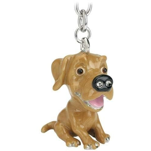 Golden Labrador Gift Figurine Keyring - The Pet Vault