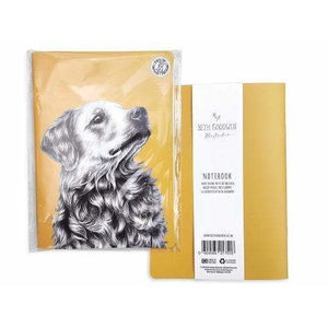 Golden Retriever Gift Notebook by Goodchaps - The Pet Vault