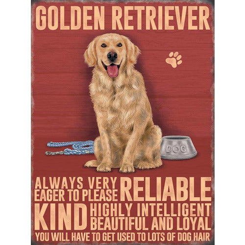Golden Retriever Magnet Gift - The Pet Vault