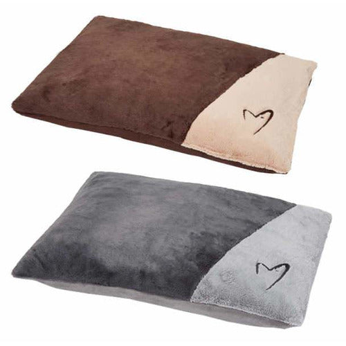 GorPets Dream Cushion Luxury soft and warm dog day bed or mat in grey or brown - the pet vault