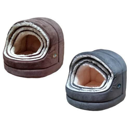 Gor Pets Nordic Hooded Igloo Cat Bed - The Pet Vault