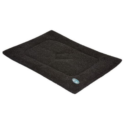 Gor Pets Sherpa Warm and Soft Dog Crate / Cage Mat - Black - The Pet Vault
