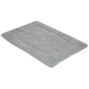 Gor Pets Sherpa Warm and Soft Dog Crate / Cage Mat - Grey - The Pet Vault