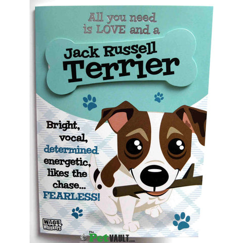Jack Russell Gift Birthday Or Christmas Card The Pet Vault