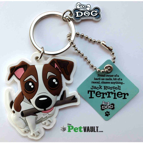 Jack Russell Gift Keyring - The Pet Vault