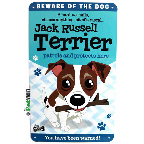 Jack Russell Gift Sign - The Pet Vault