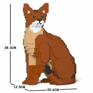 Jekca Abyssinian Cat Gift Ornament Model, gift for Abyssinian Cat lovers in four poses - The Pet Vault