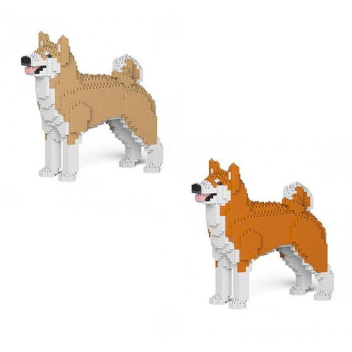 Jekca Akita Inu Gift Ornament Model, gift for Akita Inu dog lovers in two colours - The Pet Vault