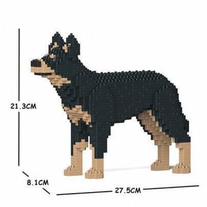 Jekca Australian Kelpie Gift Ornament Model, gift for Australian Kelpie dog lovers In two sizes - The Pet Vault