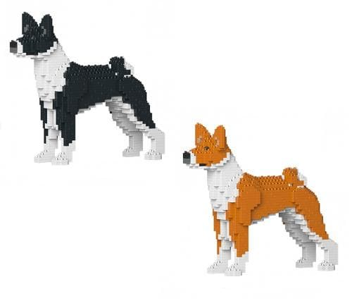 Jekca Basenji Gift Ornament Model, gift for Basenji dog lovers in two colours - The Pet Vault