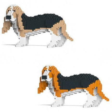 Jekca Basset Hound Gift Ornament Modelin two colours, gift for Basset hound dog lovers - The Pet Vault