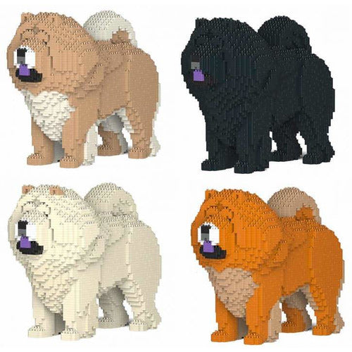Jekca Chow Chow Gift Ornament Model, gift for Chow Chow dog lovers in four colours - The Pet Vault
