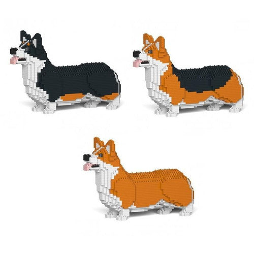 Jekca Corgi dog Gift Ornament Model, gift for welsh Corgi dog lovers in three colours - The Pet Vault