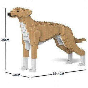 Jekca Greyhound Gift Ornament Model, gift for Greyhound dog lovers in three colours - The Pet Vault