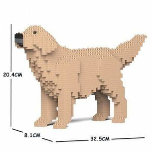 Jekca Golden Retriever Gift Ornament Model, gift for  Golden Retriever dog lovers in three colours - The Pet Vault