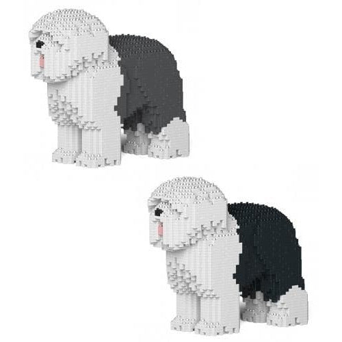 Jekca Old English Sheepdog  Gift Ornament Model, gift for Old English sheepdog lovers in Two sizes - The Pet Vault