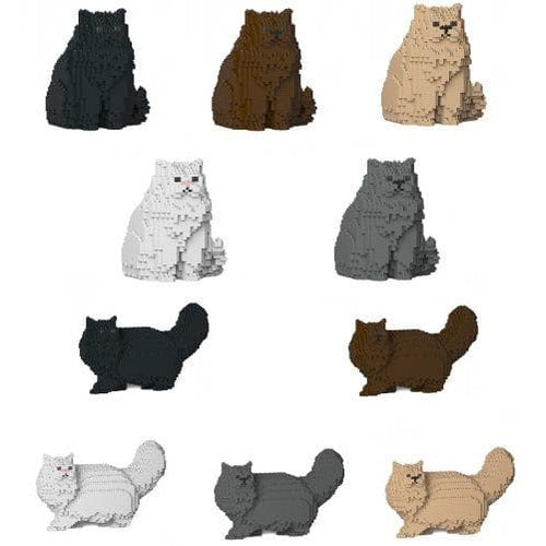 Jekca Persian Cat Gift Ornament Model, gift for Persian Cat lovers in four colours - The Pet Vault