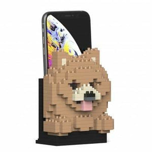 Jekca Pomeranian Gift Phone Stand - The Pet Vault