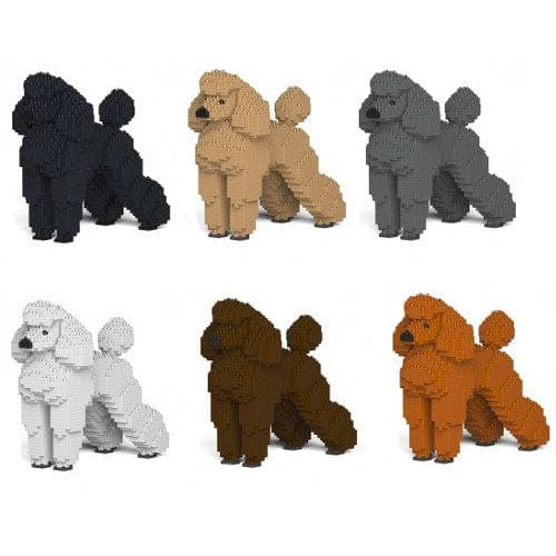 Jekca Poodle Gift Ornament Model, gift for Poodle dog lovers in six colours - The Pet Vault