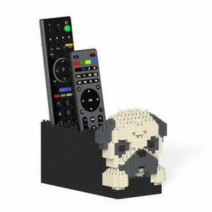 Jekca Pug Gift Remote Control Holder - The Pet Vault