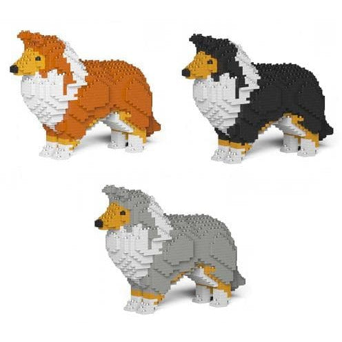 Jekca Shetland Sheepdog Gift Ornament Model, gift for Shetland Sheepdog lovers - The Pet Vault