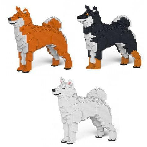 Jekca Shiba Inu Gift Ornament Model, gift for Shiba Inu dog lovers in three colours - The Pet Vault