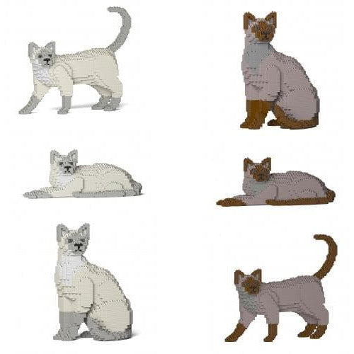 Jekca Tonkinese Cat Gift Ornament Model, gift for Tonkinese  Cat lovers in two colours - The Pet Vault