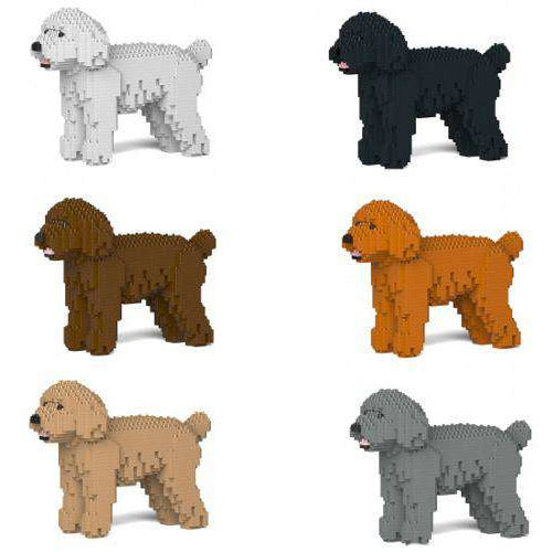 Jekca Toy Poodle Gift Ornament Model, gift for Toy Poodle lovers in six colours - The Pet Vault