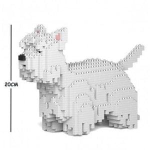 Jekca West Highland Terrier Gift Ornament Model, gift for Westie lovers - The Pet Vault
