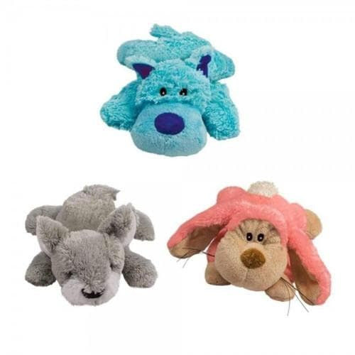KONG Cozie Pastels Plush Squeaky Dog Toys - The Pet Vault