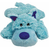 KONG Cozie Pastels Plush Squeaky Dog Toys Blue - The Pet Vault
