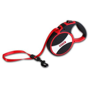 KONG EXPLORE FLEXIBLE RETRACTABLE DOG LEAD FOR LARGE DOGS  - THE PET VAULT