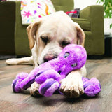 KONG Softseas Dog Toys - Super Soft squeaky crinkle plush dog toy with labrador - The Pet Vault