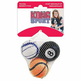 KONG Sport Balls Dog Toy Small 3 Pack - The Pet Vault