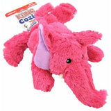 KONG Cozie Brights Elephant plush cute dog toys in three animals - The Pet Vault