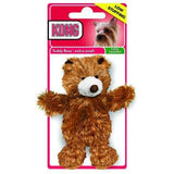 KONG Dr Noyz Push Toy for small and toy dogs with squeaker Bear X small - The Pet Vault