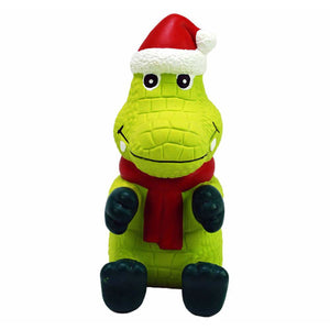 KONG Wiggi Alligator Christmas Dog Toy - Christmas present for Small Dogs - The Pet Vault
