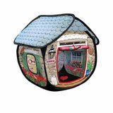 Kong Cat furniture play spaces Cat Hideaway bungalow - The Pet Vault