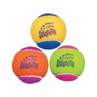Kong Dog Birthday Present Squeakair Ball - The Pet Vault