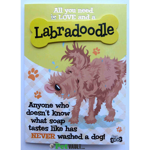 Labradoodle Gift Greeting Card - The Pet Vault