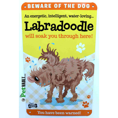 Labradoodle Gift Sign - The Pet Vault