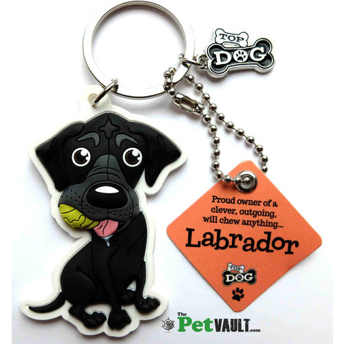 Black Labrador Gift Keyring - The Pet Vault