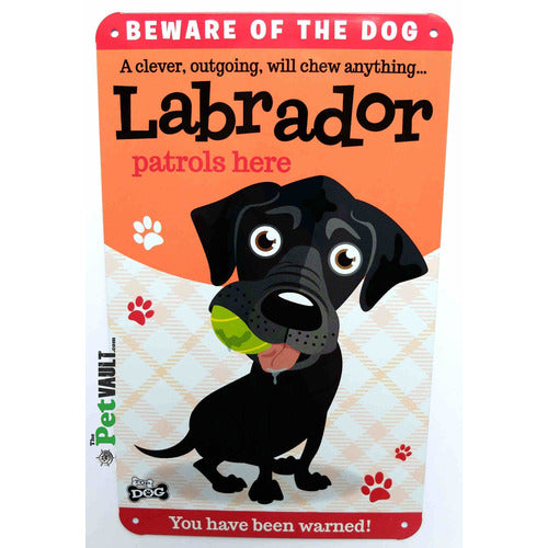 Black Labrador Gift Sign - The Pet Vault