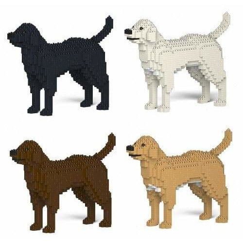 Labrador Dog Ornament Gift Model by Jekca, Building block model Gifts - The Pet Vault