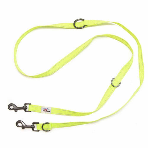Long Paws - Urban Trek Neon Hi-Vis Reflective Dog Training leash lead - The Pet Vault