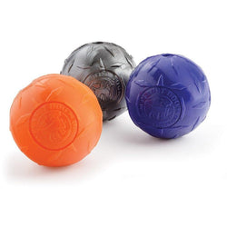 Planet Dog Orbee-Tuff Diamond Plate Ball - The Pet Vault