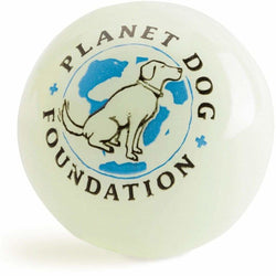 Planet Dog Orbee-Tuff Glow for Good Glow In The Dark Ball - The Pet Vault