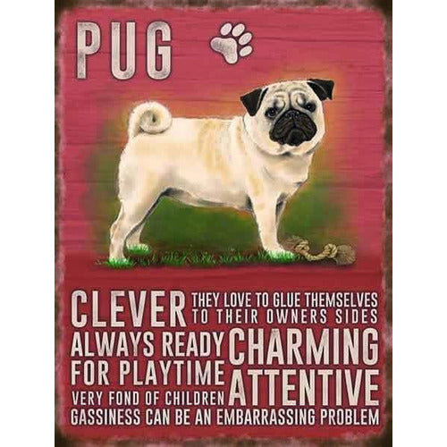 Pug Magnet Gift - The Pet Vault